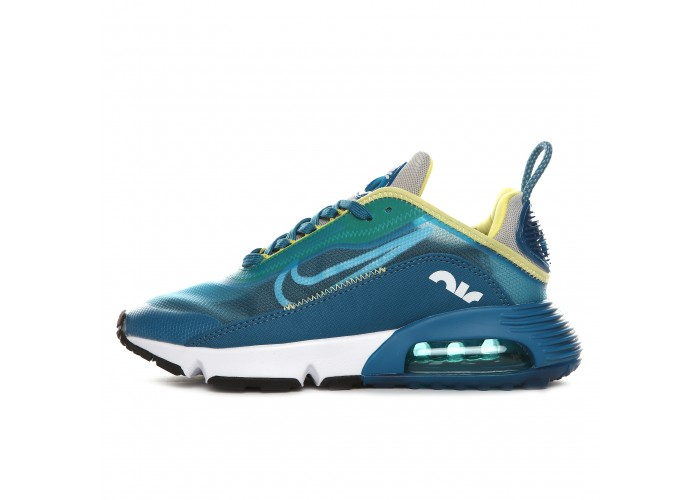 Кроссовки Nike Air Max 2090 Blue Yellow White Sportswear Wm