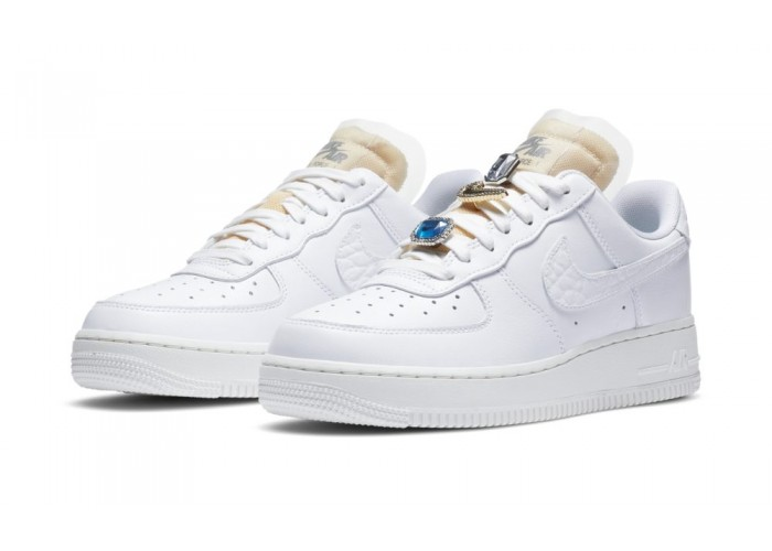 White Nike Air Force 1 AF1 low Nai Ke 'THE BUND'