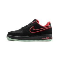 Кроссовки Nike Air Force 1 - Black/Action Red