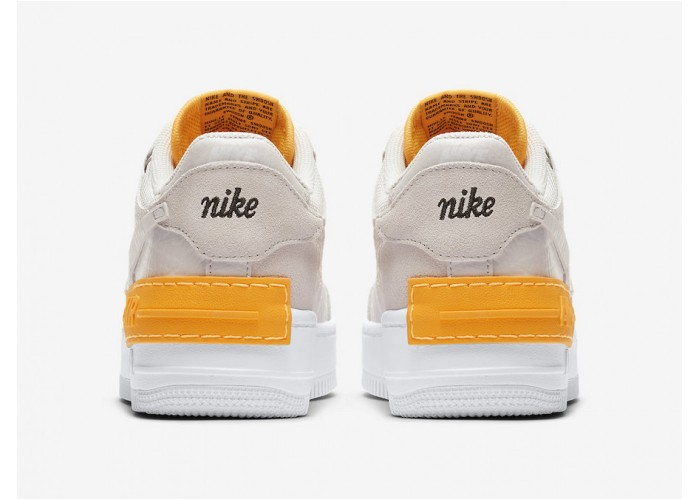 Кроссовки Nike Air Force 1 Shadow Releasing in Beige and Orange (36-40)