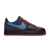 Nike Air Force 1 Premium Burgundy Ash/Blue
