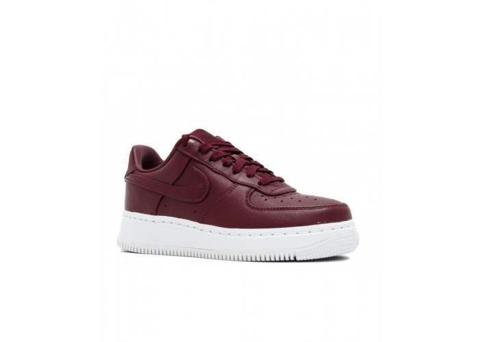 Кроссовки унисекс Nike Lab Air Force 1 Low Night Maroon Red (36-40)