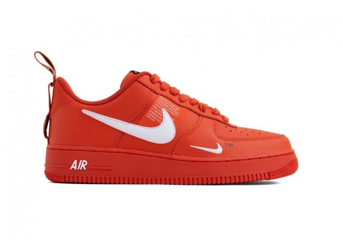 Кроссовки унисекс Nike Air Force 1 '07 LV8 Utility October Red (36-45)