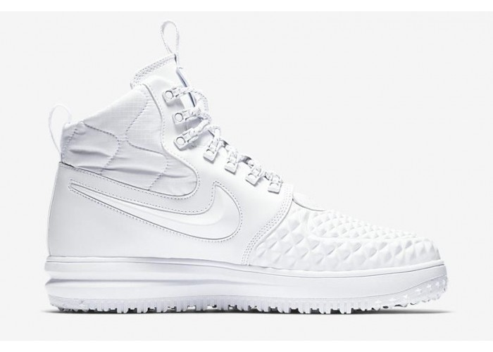 Кроссовки Nike Lunar Force 1 Duckboot White/White (37-45)
