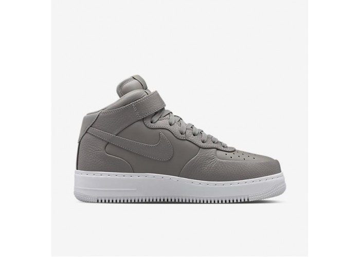 Кроссовки унисекс NikeLab Air Force 1 Mid Light Charcoal(36-45)