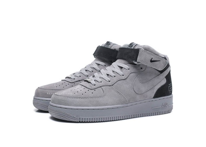 Кроссовки Nike Air Force 1 Mid Grey (41-45)