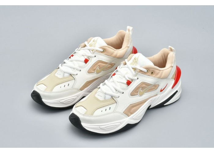 Кроссовки Nike M2K Tekno White Gold Red (36-40)