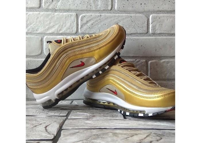 Мужские кроссовки Nike Air Max 97 (золотой)