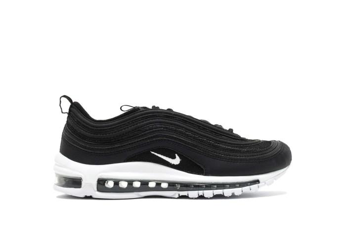 Женские кроссовки Nike Air Max 97 (чёрный / белый)