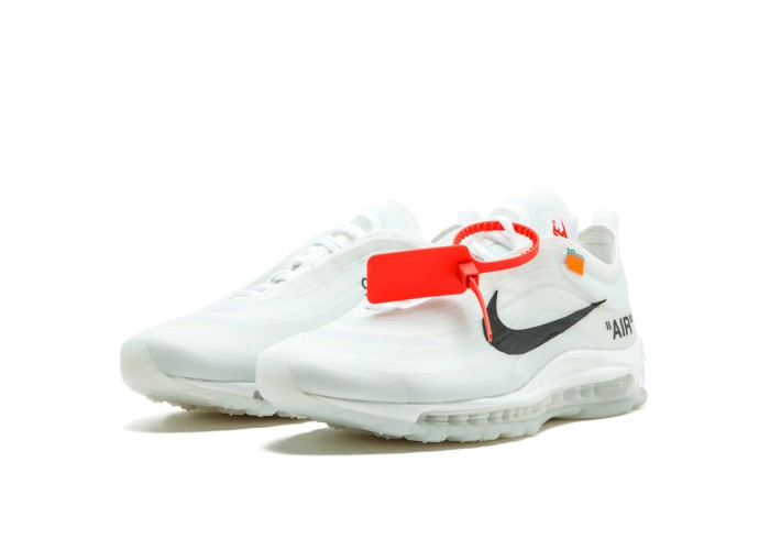 Женские кроссовки Off White Colection «The Ten» x Nike Air Max 97 og