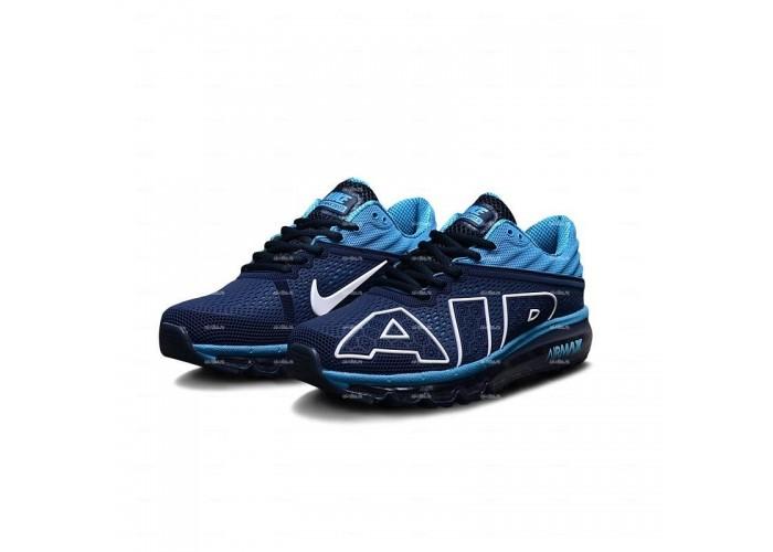 Мужские кроссовки Nike Air Max Flair (сине-голубой)
